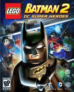 Lego Batman 2 DC Super Heroes Nintendo Wii New Free Quick Shipping