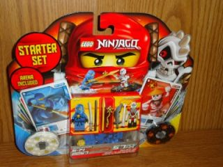 Lego Ninjago Starter Set Arena Included 57 Piece Jay Frakjaw 2257 New