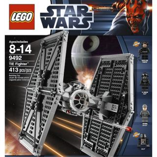 Brand New SEALED Lego Star Wars Tie Fighter 9492 413 Pcs