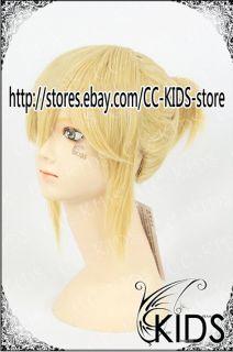 Vocaloid Kagamine Len Cosplay Wig Costume