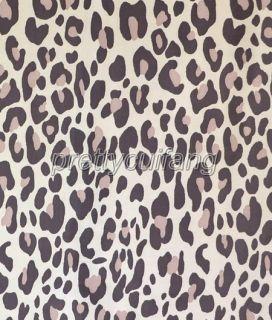 Leopard Stripe Wall Pattern Bathroom Beautiful Fabric Shower Curtain