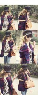 Korea 2012 Women Fashion Retro Vintage Sunglasses Black Color K36