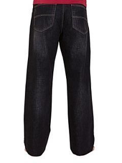 Raging Bull Straight leg jeans Red