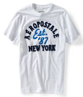 Aeropostale Mens Embroidered Est 87 Tee T Shirt Style 2302