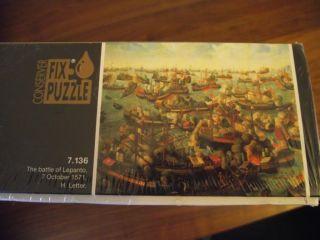 Jigsaw Puzzle Educa 6000 Piece The Battle of Lepanto BNIB