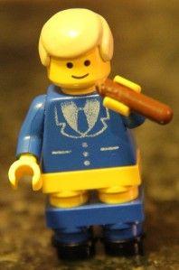 Bill Clinton Lego Minifig President William Jefferson Clinton Cigar