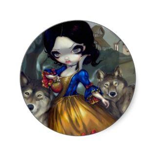 Loup Garou: Blanche Neige Sticker