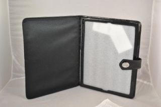 NWT COACH SIGNATURE IPAD TABLET CASE COVER SLEEVE BLACK #F61117 GIFT