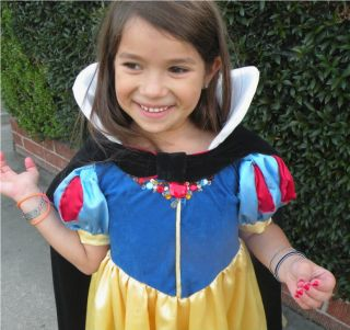 Custom Made OOAK Snow White German Child Costume 4 10