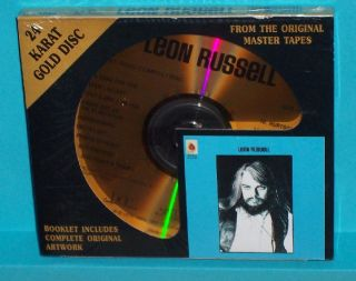 Leon Russell DCC CD Self Titled SEALED Japan Gold Disc
