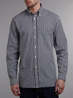 Gant Long sleeve gingham shirt Navy