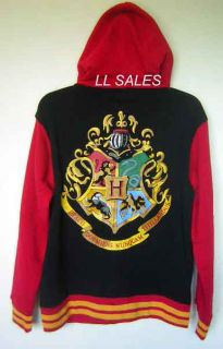 Harry Potter Hogwarts Crest Varsity Letter Jacket Hoody