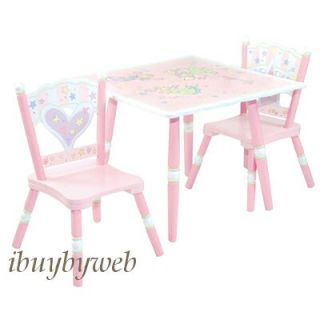 Levels of Discovery Kids Fairy Wishes Table 2 Chair Set
