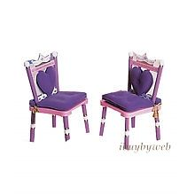 Levels of Discovery Kids Always A Princess 2 Extra Chairs Pink Purple