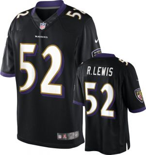 Baltimore Ravens Ray Lewis M Black Limited Twill Jersey