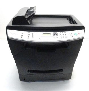 Lexmark X342n All In One Laser Printer  600x600 Laser 25 PPM Black