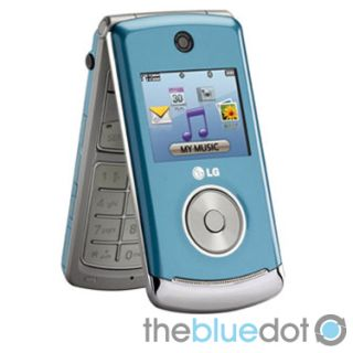 New Verizon LG VX8560 Ice Blue Chocolate 3 Flip Phone