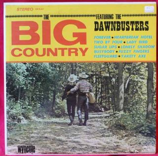 Big Country Dawnbusters LP Record