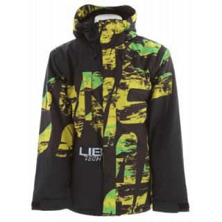 Lib Tech re Cycler Insulated Ski Snowboard Jacket Skate Banana Print