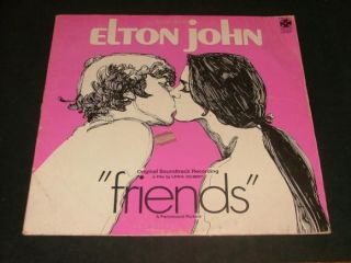Elton John Friends Sound Track Album LP 1971 Pas 6004