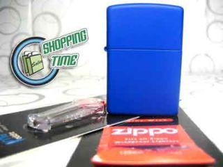 Zippo Royal Blue Fluid Lighter Flints Flint Wick Wicks