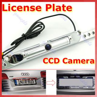 License Plate Rear View CCD Backup Night Vision Camera