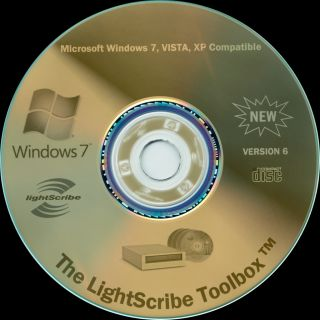 Lightscribe Toolbox New Version CD DVD Disc Labeling Software Windows