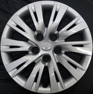Camry 16 10 Spoke 61163 Hubcap Wheel Cover Part # 4260206091 USED