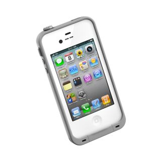 Brand New iPhone 4 4S White Lifeproof Case Shock Proof Lowest Price