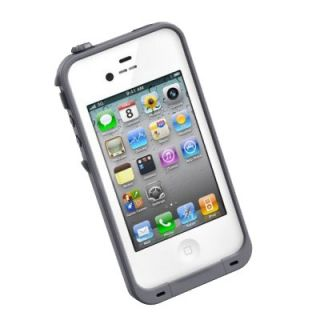 New Lifeproof Waterproof White Apple iPhone 4 4S Cover Skin Case Life