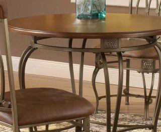 Dining Suite Kitchen Montello 36 Round Wood Table Set