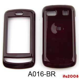 For LG Xenon GR500 A Brown Cell Phone Case Cover Skin Faceplae