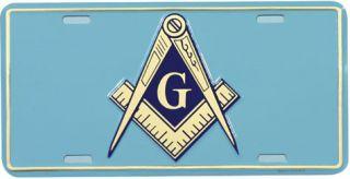 Masonic Aluminum Auto License Plate Car Truck Tag Metal Sign New Lodge
