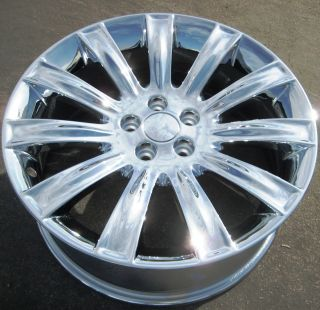 Your Stock 4 New 20 Factory Lincoln MKS MKX Chrome Wheels Rims