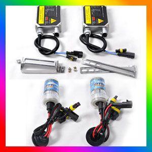 881 8000K HID Ballast Xenon Kit Set Birnen Lampe 55W