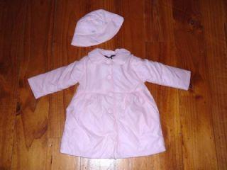 Lili Gaufrette Pink Babydoll Padded Coat Hat 1 2 $300