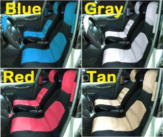 Dodge RAM 1500 2500 3500 Car Seat and Steering Wheel Cover Set