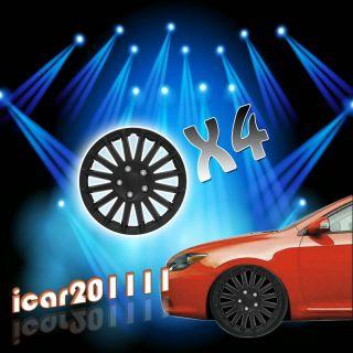 Pcs 16 Black Wheel Covers Hubcaps Center Hub Caps Rim Tires