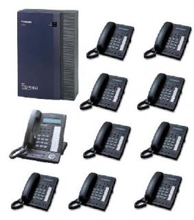 Panasonic KX TDA30 Telephone System Analogue 10 Phones