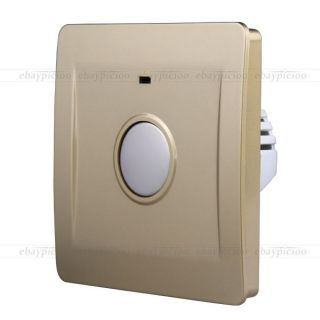 Home Bedroom Room Touch Controll Light Lamp Switch Panel 10A DIY
