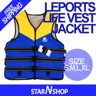 Life Vest Jacket Adult Kids PFD Water Sports Safe Size s M L XL Best