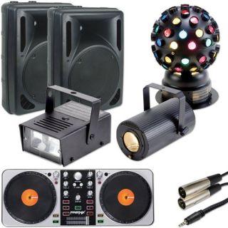 Complete House Party Sound Light Kit System