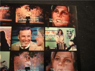 Lindsay Wagner Bionic Woman 1970s Contact Sheet 2 Photo Lot H18