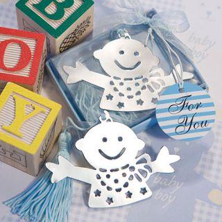 40 Baby Boy Design Bookmark Shower Favors