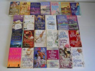 Nice Lot of 25 Lisa Kleypas Romance Paperback Books ~ Historical