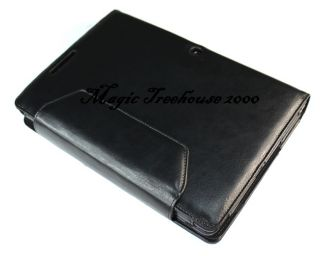 Leather Keyboard Portfolio Stand Case Cover for Asus Transformer TF300