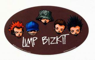 Limp Bizkit Vinyl Bumper Skate Deck Window Sticker 7x4