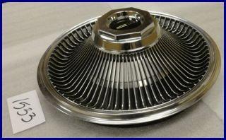 1968 1969 68 69 Lincoln Mark Series 15 Hubcap Hub Cap Nice Used
