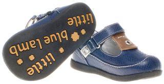 Little Blue Lamb Boys Kids Toddler Childrens Infant Leather Shoes Tan
