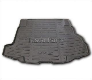 OEM BLACK RUBBER CARGO AREA PROTECTOR MAT LINER 2007 2010 LINCOLN MKZ